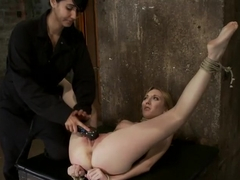 March's Live Show 2/3Tickled, flogged, foot caned, banged, squirting & vibrated to brutal orgasm