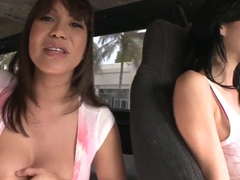 Ava Devine braces herself and lick this spike
