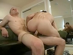 Straight military lad bonks bareback