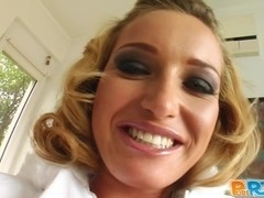 Pure Pov Snow angel sucked and got fucked perfectly