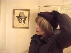 Sweet hairy Mature MILF roughly fucked by boyfriend
