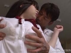 Aimi Irie hot Asian teen is a kinky chick