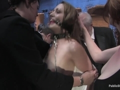Brand new girl gets her porn intitation on Public Disgrace