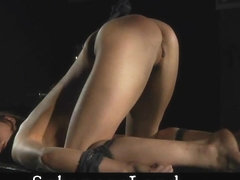 ### girl slut anus toyed and water injected before fuck