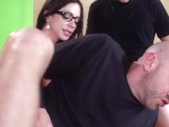 Brazzers Exxtra: Big News On The Boob Tube. Ariella Ferrera, Tyler Nixon, Will Powers
