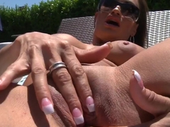 Claudia Valentine getting fucked after blowjob