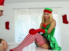 ExxxtraSmall - Life Size Elf Doll Fondled and Fucked