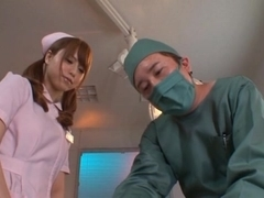 Akiho Yoshizawa  Lovely Japanese nurse has sex in the hospital