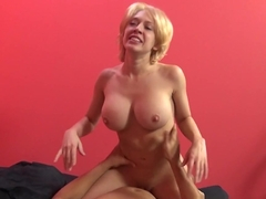 Crazy pornstar Kagney Linn Karter in Fabulous Cumshots, Blonde porn video