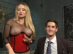 Hottest anal, fetish adult clip with best pornstars Aiden Starr and Tony Orlando from Kinkuniversi.