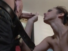 Kinky Tiffany Tyler seduces her friend and gets drilled hard