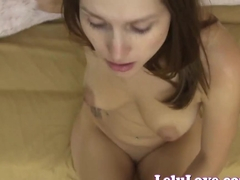 Lelu Love-Submissive Blowjob Creampie For Master