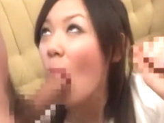 Incredible Japanese slut Yui Rukawa in Fabulous Swallow, POV JAV scene