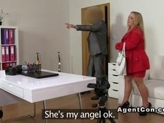 Blonde amateur bbw blowjob casting