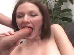Melanie Gets Her Throat Fucked