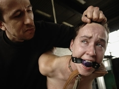 BrutalPunishment Video: Chick Bound and Led Like a Dog