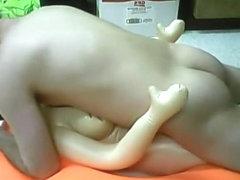 love doll & big inner tube