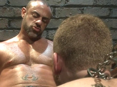 BoundGods : CJ Madison returns with a tight chain around his boys neck