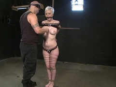 Amazing fetish sex scene with incredible pornstars Cherry Torn and Derrick Pierce from Dungeonsex