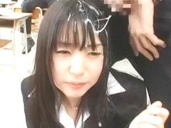 Best Japanese slut Tsubomi in Exotic Handjobs, Secretary JAV scene