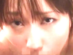 Hottest Japanese model Mika Osawa in Horny POV, Swallow Сum JAV scene