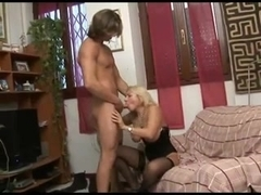 Slut Cheating Wife love fucking with her younger Lover-P1