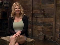 Huge Tit Blonde Bondage Slut Destroyed With Overwhelming Orgasms