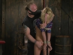 blond bound and fucked 1 of 2