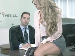 Corrina Blake in Find a Thrill Scene
