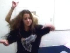Most Excellent twerking livecam dance episode