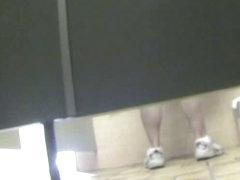A voyeur is hiding in the cabin beside