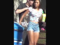 Black Girl With A Tight Fuckable Ass
