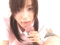 Amazing Japanese whore Hina Hanami in Crazy Handjobs, Nurse/Naasu JAV clip