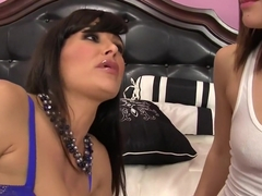 Amazing pornstars Gabriella Paltrova and Lisa Ann in incredible hairy, tattoos sex video
