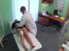 FakeHospital Doctors cock heals sexy squirting blonde