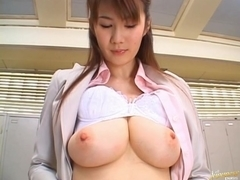 Erika Kirihara Pretty Asian teacher teaches sex