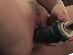 Horny fetish adult video with amazing pornstars Starri Night and Tatiana Kush from Fuckingmachines