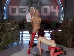 Young, Slutty Recruits Sent to Electro-bootcamp!