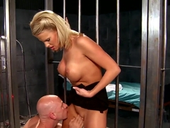 Johnny Sins eats out Jessica Nyx real good