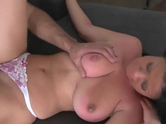Big-titted Klaudia Hot makes a first-class deepthroat