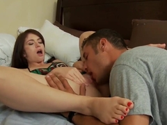 Very hot and very naughty Ashlyn Rae and Danny Mountain