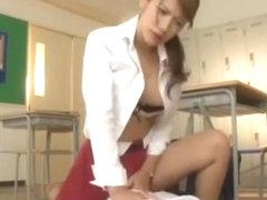 Best Japanese model Nina in Fabulous Blowjob, Fingering JAV scene
