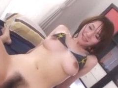 Crazy Japanese chick Yuzuka Kinoshita in Hottest Masturbation, Fetish JAV video