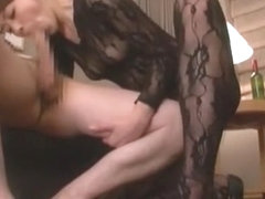 Hottest Japanese whore Maki Hojo in Best Handjobs, Stockings JAV scene