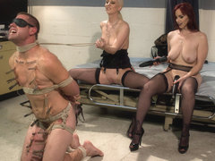 Cherry Torn & Orlando & John Jammen & Bella Rossi in The Sperm Bank - DivineBitches