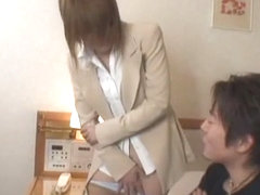 Horny Japanese model in Hottest Deep Throat, Blowjob JAV video