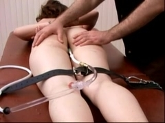 Caning And Enema For Pain Slut Maddie