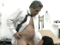 Mila Wilde fucks the horny old doctor