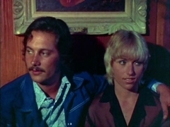 Retro porn movie from the 1980s with hairy sluts