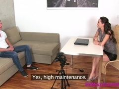 FemaleAgent: Young stud desperate for work